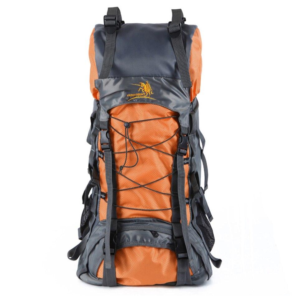 60l impermeable al aire libre senderismo mochila táctica senderismo camping depo