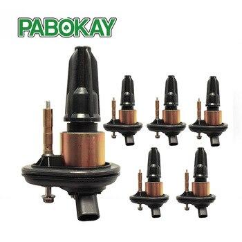 6 piezas Pack de bobina de encendido para 02-05 Chevy pionero GMC Canyon envoy GN10114 GN10114-11B1 880395 DMB2058 UF303 UF-303 12438