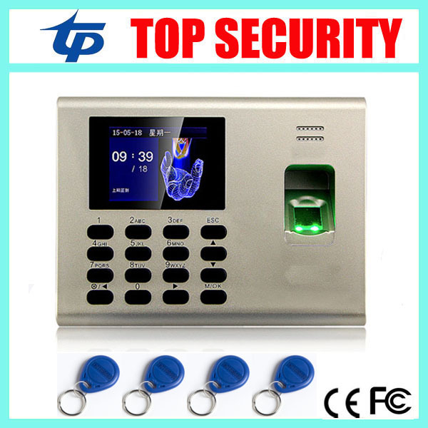 SSR TCP/IP fingerprint time attendance with RFID card reader linux system color screen fingerprint attendance with battery tcp ip usb fingerprint time and attendance time clock time recording with mf card reader 3 inch color screen with free software