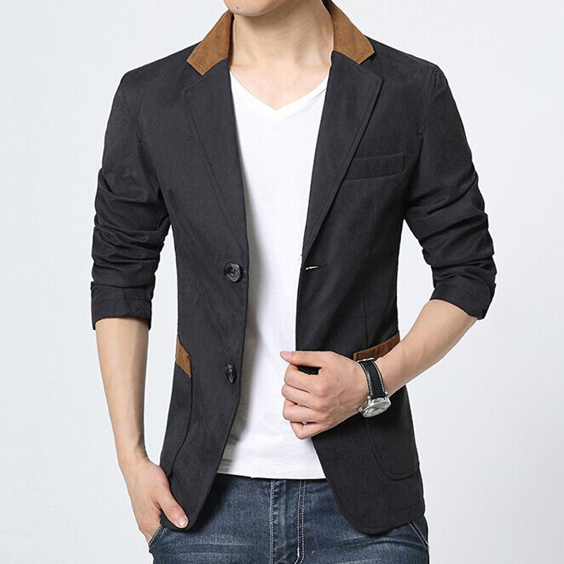 Compare Prices on Mens Cotton Blazer- Online Shopping/Buy Low ...