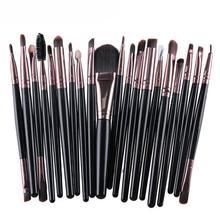 MA4 Stylish Professional Makeup Tool 20 pcs Makeup Brush Set tools Make-up Toiletry Kit Wool Make Up Brush Set Free Shipping