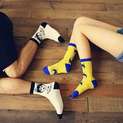 The new caramella husky creative couple socks cotton socks.jpg 250x250