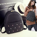Shoulder bag women 2017 spring new Korean women backpack pu tide leisure travel bag schoolbags