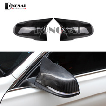 Universal Replacement Carbon Fiber Mirror Cover for BMW rearview door mirror covers x1 f20 f22 f30 gt f34 f32 f33 f36 m2 f87 E84 for bmw e90 e92 e93 f20 f22 f30 f32 f33 f36 g30 g38 m2 m3 m4 f82 f80 f83 e84 carbon fiber antenna cover shark fin