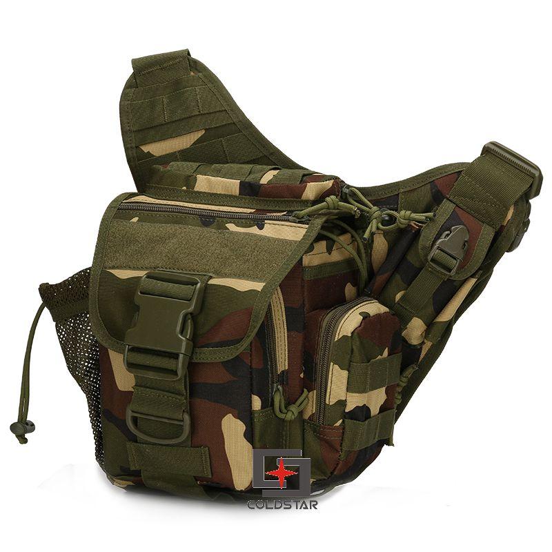 Prix pour Woodland Multicam Tactique Militaire Jambe de Baisse Sac Molle Camo Voyage Sac Petit Sport En Plein Air Randonnée Camping Ceinture Sac de Taille Pack