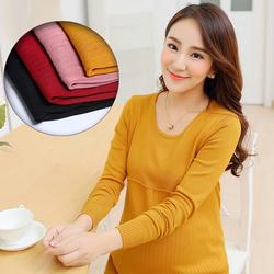 Высокое качество осень для беременных свитер для беременных Для женщин для беременных Зимняя одежда супер эластичные свитер для