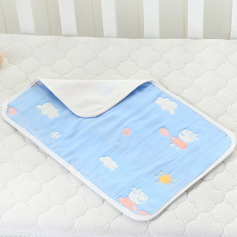 Soft Baby Pad Infants Washable Mattress Portable Nappy Travel Cushion Floor Cover Waterproof Reusable Diaper Changing Mat