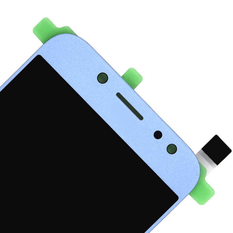 Do Samsung Galaxy J7 Pro 2017 J730 SM-J730F J730FM/DS J730F/DS J730GM/DS wyświetlacz LCD + ekran dotykowy Digitizer zgromadzenia
