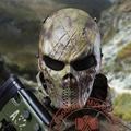 Hot Sale Skull Masks Skeleton Airsoft Paintball BB Gun Wargame CS Full Face Protective Mask Free Shipping