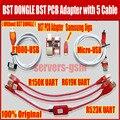 BST dongle BST PCB Adaptador para HTC SAMSUNG xiaomi desbloquear a tela S6 S3 S5 9300 9500 bloqueio reparação IMEI data de registro Melhor Inteligente também