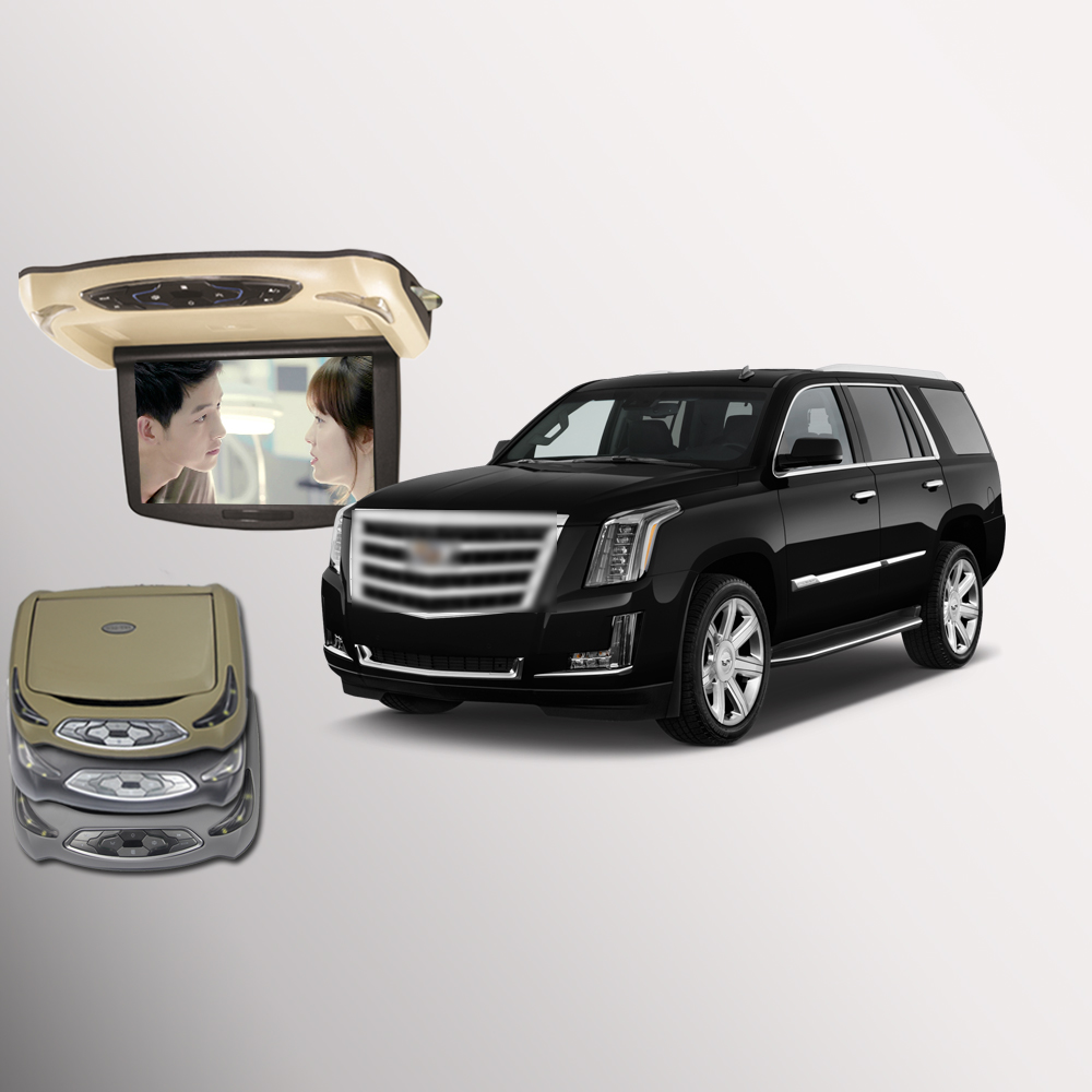 BigBigRoad For Cadillac Escalade Car Roof Mounted In Car