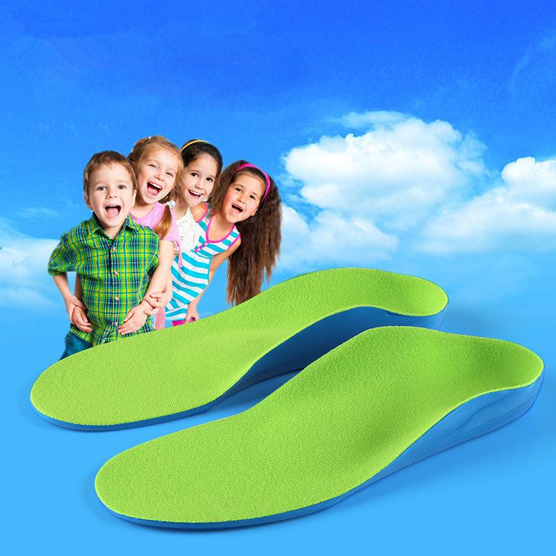 Childrens Eva Orthopedic Insoles Childrens Flat Foot Arch Support Orthotic Pads Correction Feet Care