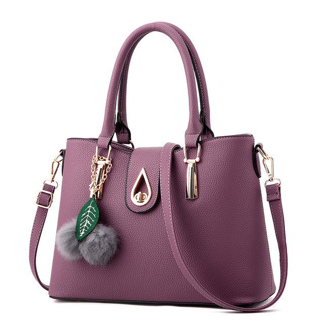 OLGITUM New Arrival 2017  Women Fashion Handbags Pu Leather Shoulder Lady Bags Messenger Big Leisure  Handbag  for Women F736