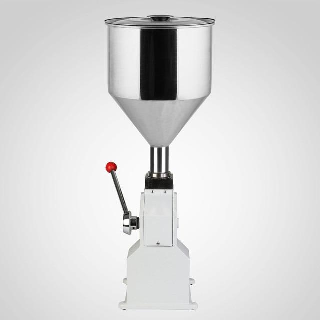 Food filling machine Manual hand pressure stainless paste dispensing liquid packaging equipment sold cream machine 0 ~ 50ml