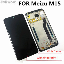 цены на With frame For Meizu M15 LCD M871Q LCD Display+Touch Screen Digitizer Full Assembly Replacement Parts  в интернет-магазинах