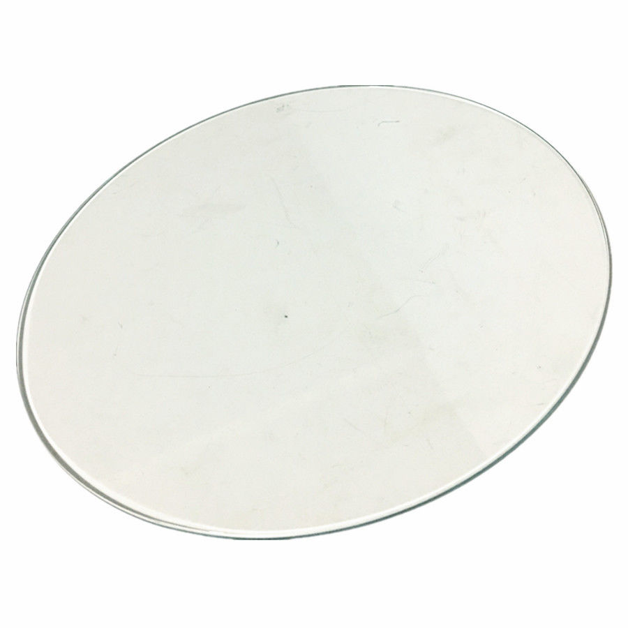 Clear Borosilicate Glass for Kossel Delta Rostock 3D Printers Round 350mm 3mm or 4mm thick Boro