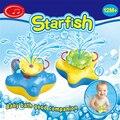 1 peça 0-11 Y Crianças Brinquedo Brinquedo De Plástico de Água Do Banho Do Bebê Estrela Do Mar