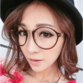 Eyeglass Frame Eyewear Of Spectacles Frame For Female Grade Glasses Is Round And Full-Rim kly2183