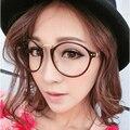 Montura de Las Gafas De Montura de Gafas Para Mujer Gafas de Grado Es Redondo Y Lleno-Borde kly2183