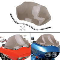 13 Motorcycle Windshield Cover CNC Batwing Fair Windshield Trim For Harley Road Glide FLTR Ultra Custom