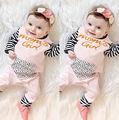Ropa de bebé Pijamas Del Bebé Recién Nacido Mamelucos Infantiles Mono de La Manga Larga Chicos Chica de Primavera Otoño Ropa Desgaste