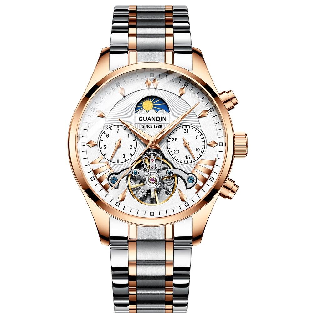 HTB1CZ7eRbPpK1RjSZFFq6y5PpXaQ GUANQIN 2019 clock men's/mens watches top brand luxury automatic/mechanical/luxury watch men gold tourbillon mens reloj hombre