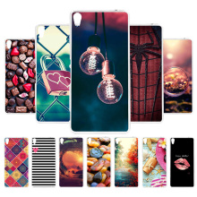 3D DIY Soft Silicone Case For Sony XA Ultra Coque Xperia C6 Cover Painted Back Fundas Housing