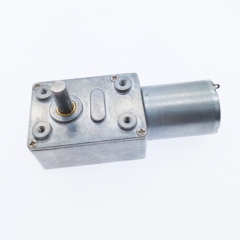 LMioEtool DC Electric Gear Motor Eccentric Output Shaft 37mm Diameter with Metal Reducer Gearbox High Torque Reversible Mini Speed Reduction Geared Motor 24V//200RPM