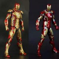 NEW Hot! 18 cm Filme Homem de Ferro 3 Action Figure Superhero Mark 42 43 vingadores aliança móvel presente de Natal Brinquedos Colecionadores