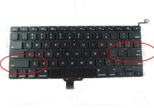 Laptop Keyboard New -2012 For Apple A1278 Keyboard US Keyboard Replacement