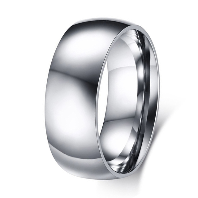 Promotion Surgical Stainless Steel Rings for Women Men Wedding