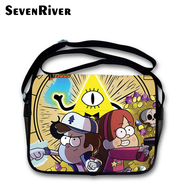 Gravity Falls Mochila Satchel Personajes De Dibujos Animados