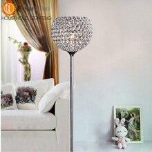 Modern Crystal Floor Lamps For Bedroom,Living Room,Study, Crystal Floor Light Free Shipping