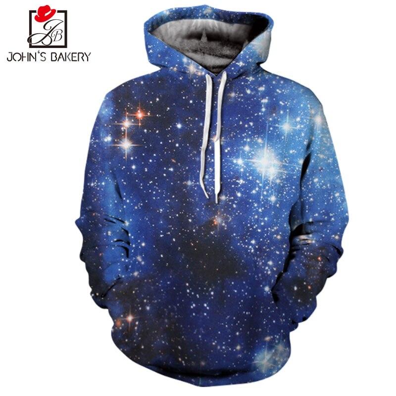 2018 John'S Bakery Digital Print Hoodies Men/Women Sweatshirt Hooded 3d Brand Clothing Hoody Autumn Winter Slim Hooded Hoody Top