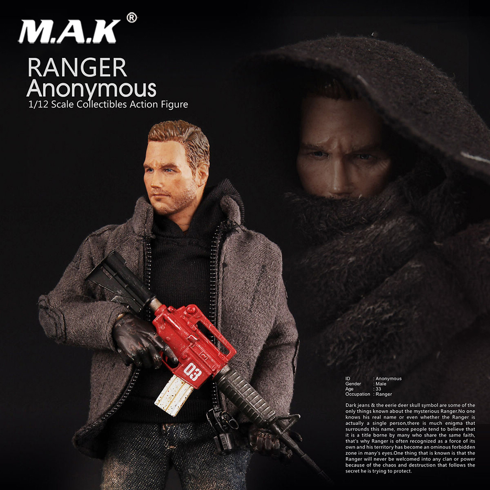 1/12 Scale Ranger Anonymous V00012 1/12 Scale Anonymous Ranger People Series 6 Action Figures цена