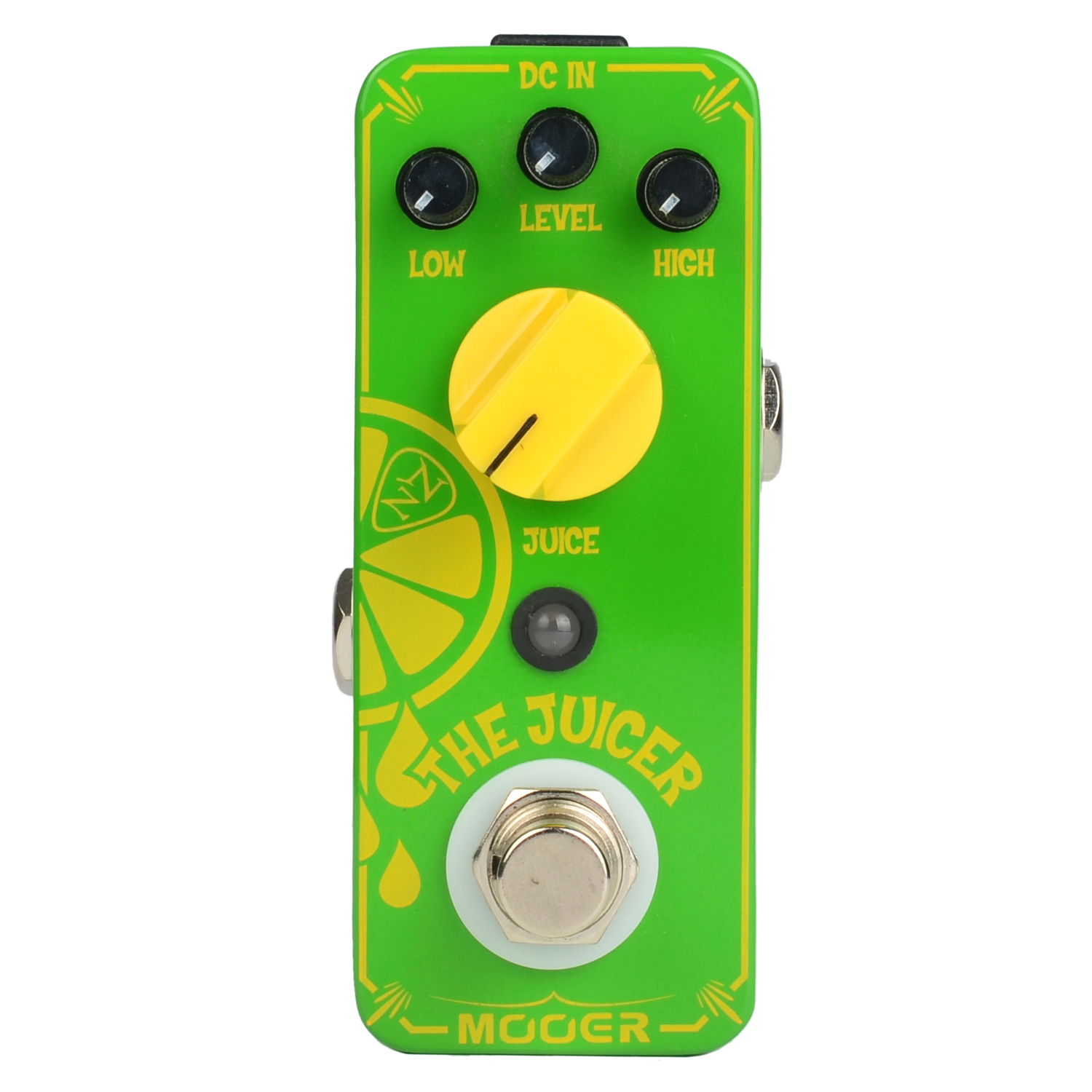 Mooer The Juicer Overdrive Electric Guitar Effect Pedal Metal Shell True Bypass mooer green mile overdrive guitar effect pedal micro effectstrue bypass with free connector and footswitch topper