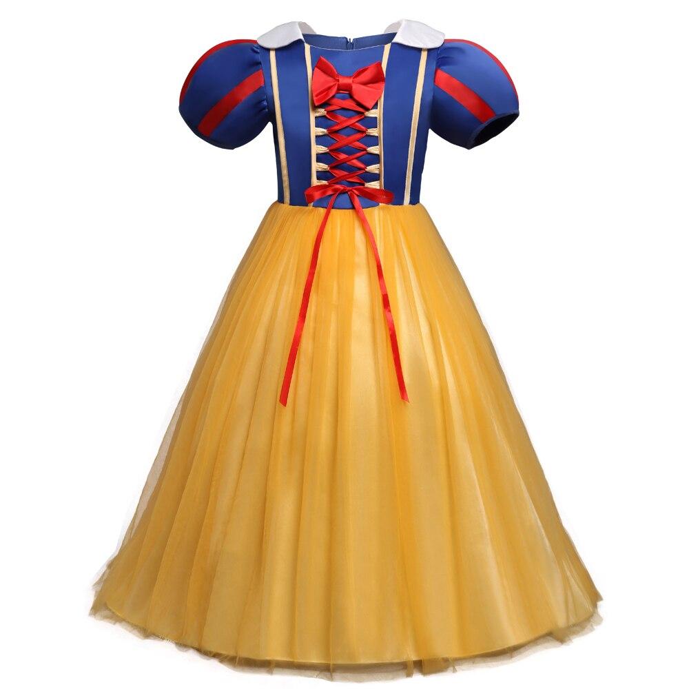 fc1c0ddee23 4 6 8 Year Elsa Princess Halloween Costume Girl Cosplay Children Snow White  Prom Dress Kids Baby Clothes Fancy Teenger Clothing