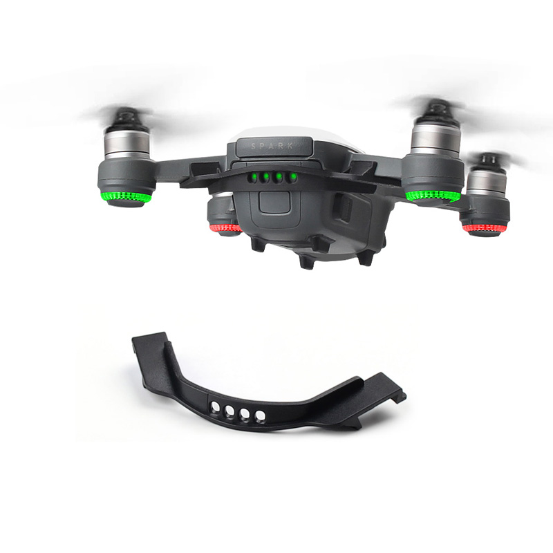 For DJI Spark Battery Buckle Holder Anti Separation Protector Flight Protective Guard Fixed Board Anti slip Strap Buckle Cover-in Prop Protector from Consumer Electronics