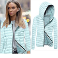 Fashion Women Coat 2016 Winter Overcoat Women's Long Sleeve Hooded Jackets Slim O-neck Ladies Parkas Plus Size Zipper Jacket