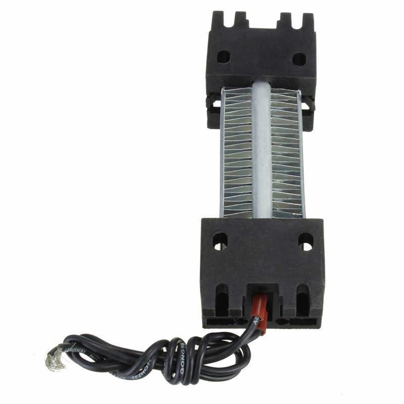 Oberfläche Isolierte 100 W 220 v Keramik Thermostat PTC Heizelement Elektrische Luft Heizung 11,5x3,5 cm AC/ DC