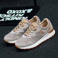Spring And Summer Net Shoes Shoes Sports Shoes Female Harajuku Tourism Flat White Students Running