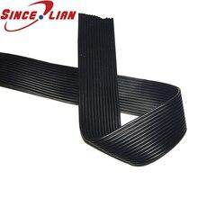 Медный провод 22AWG 0.3mm2 силиконовый кабель 14p Высокая температура параллельная линия 22AWG OD 23.8mm2 черная луженая медная линия 5 м 10 м