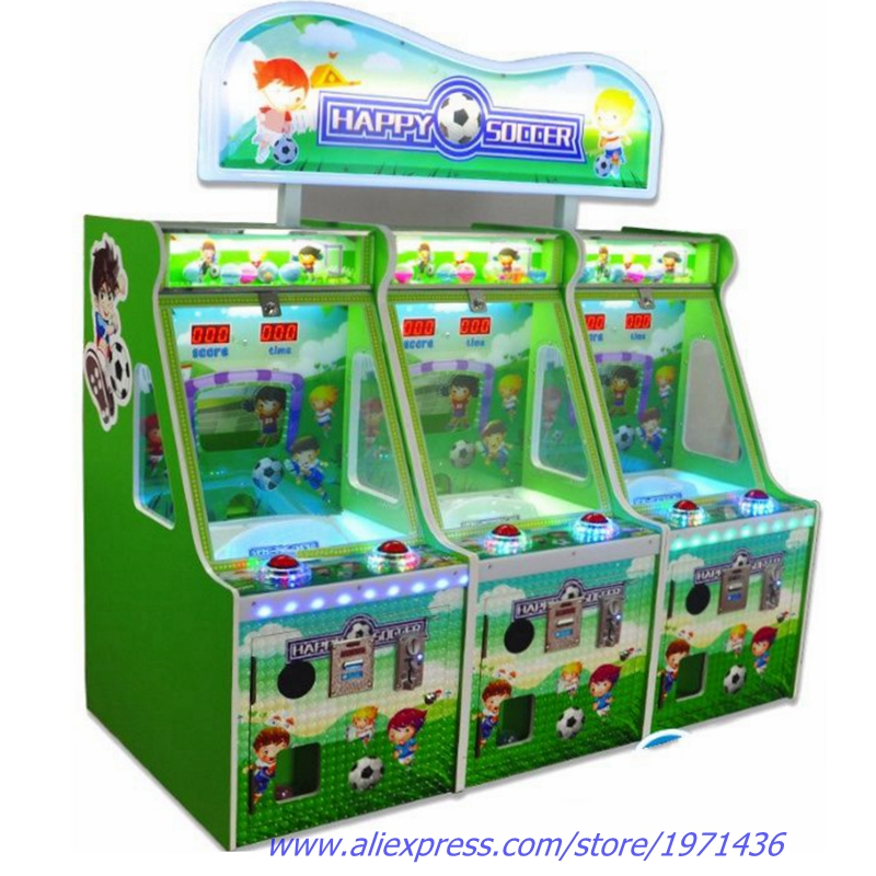 Amusement Equipment Coin Operated Arcade Machine Tickets Redemption Football Soccer Ball Shooting Game Machine For Kids