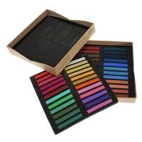 Best Price Newest 48 Colors Temporary Hair Color Chalk Dye Soft Pastels Salon Kit For DIY