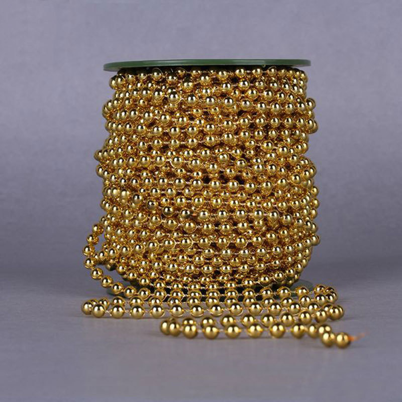 A Pack 5 Meters Length 6MM Artificial Pearl Bead Chain