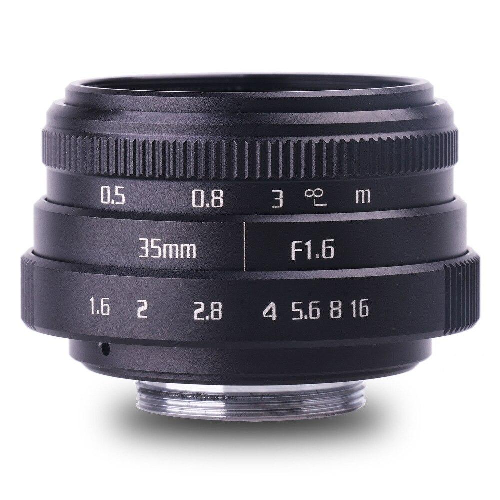 new style fujian 35mm f1.6 C mount CCTV camera Lens II for Fuji Fujifilm X-Pro1 (C-FX) free shipping