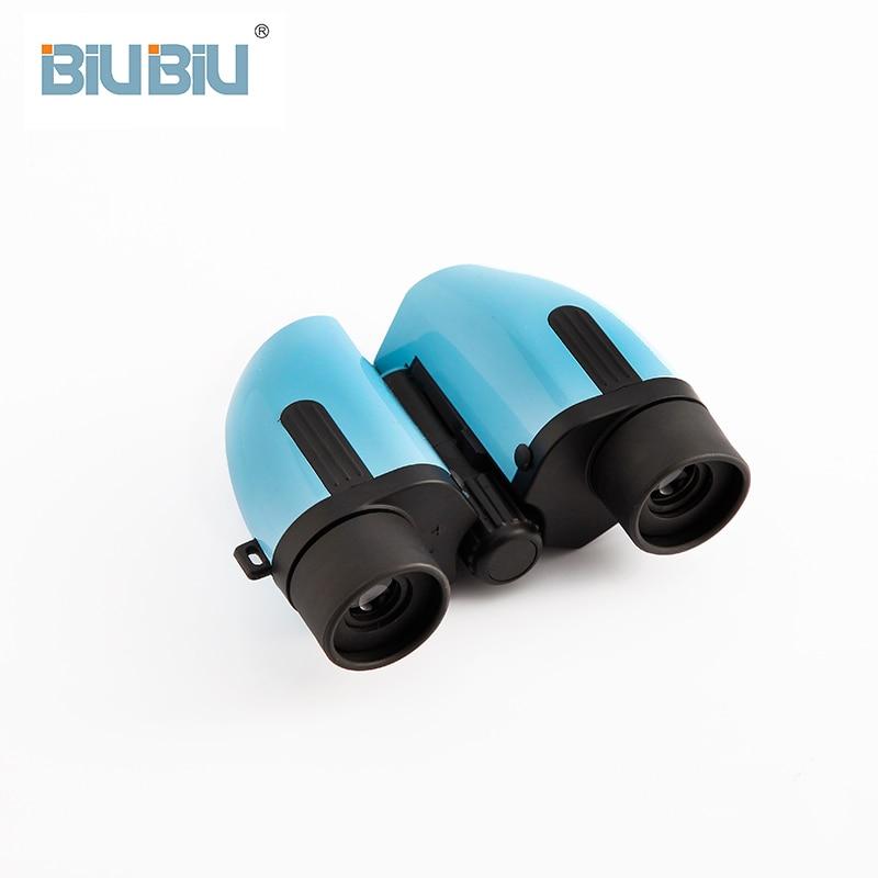 BIUBIU 8X22 HD Coloré Jumelles Vision Nocturne Imperméable À L'eau Télescope Réglage de Focalisation Haute Quilaty Extérieure Porro Jumelles