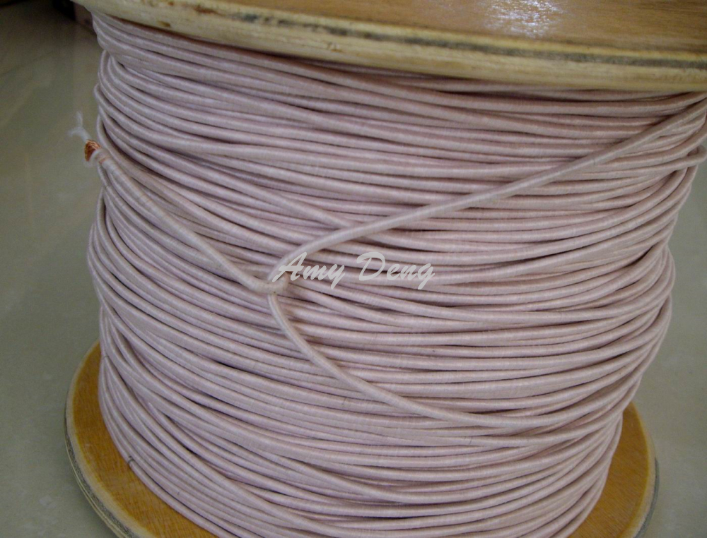 20meters lot Free shipping Mul strand copper wire polyester envelope Liz line with 0 1X300 shares
