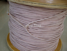 20meters lot Mul strand copper wire polyester envelope Liz line with 0 1X300 shares high frequency
