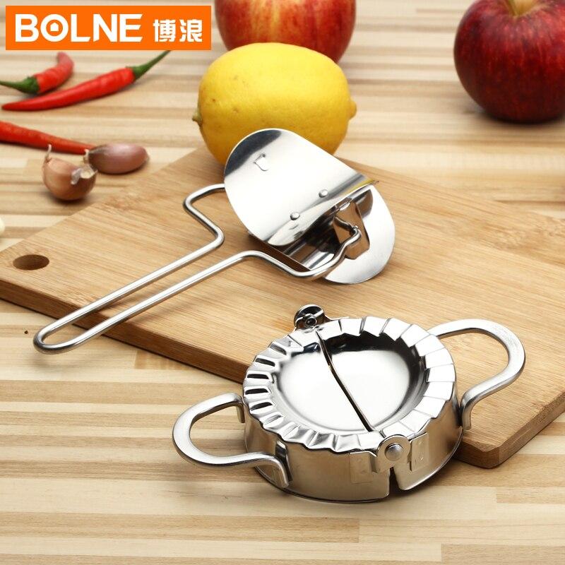 18/8 acier inoxydable boulette fabricant boulette presse boulette tarte ravioli fabrication outils de moule boulette moule outil de cuisine